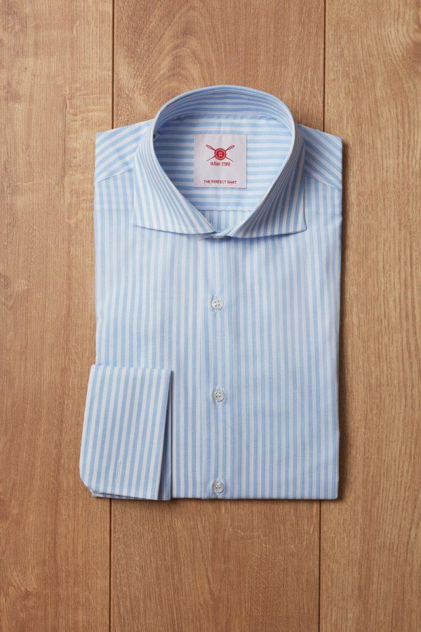 Camisa raya candela azul