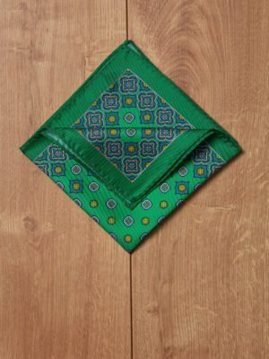 Pañuelo motivo verde