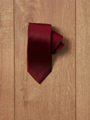 Corbata granate lisa