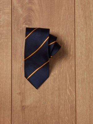 Corbata azul bandera de España