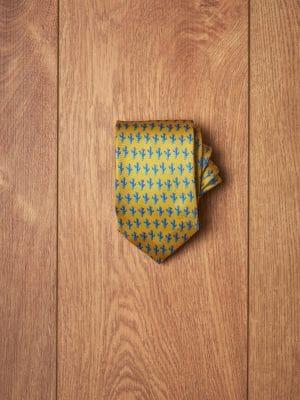 Corbata-amarilla-cactus-azul