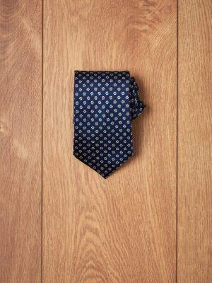 Corbata marino flores