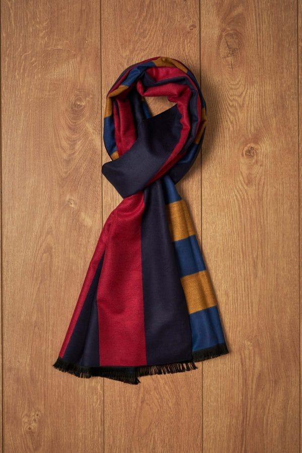 Bufanda rayas colores