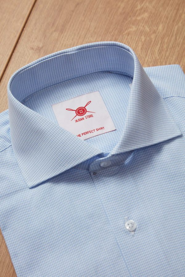 camisa cuadro frances azul 2 Jajoan Camisa Cuadro Azul Francés