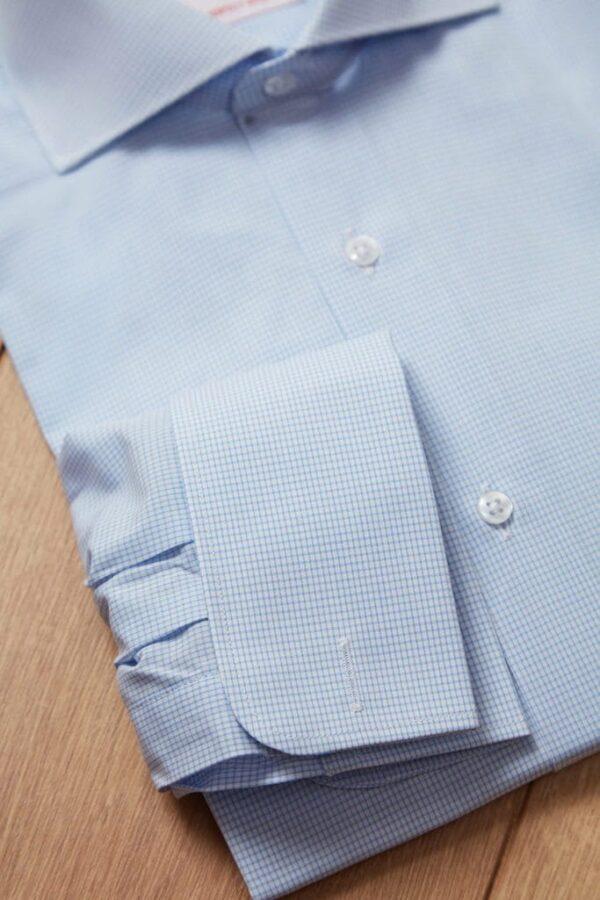 camisa cuadro frances azul 4 Jajaon Camisa Cuadro Azul Francés