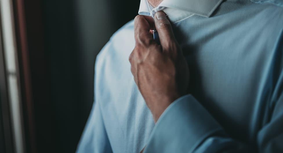 camisa vestido de novio
