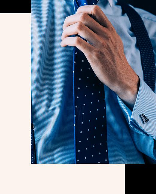 corbata para traje de novio