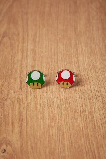 gemelos champiñones Mario Bros