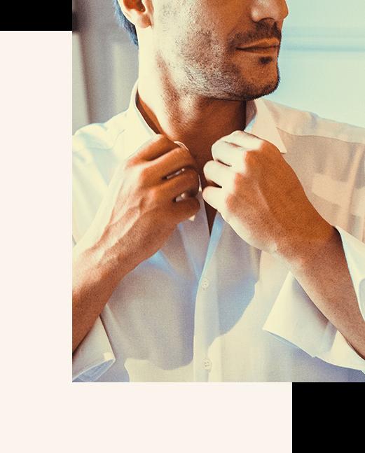 cuello camisa a medida