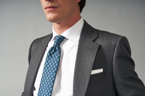 traje basic espiga gris medio jajoan0128 Traje Espiga Gris Medio