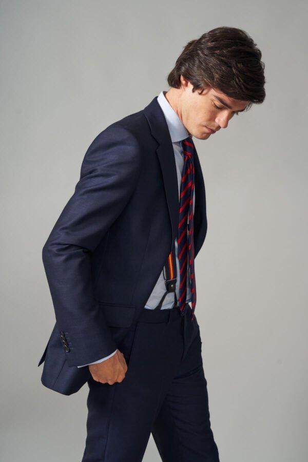 traje basic estambre marino jajoan4457 Traje Estambre Marino