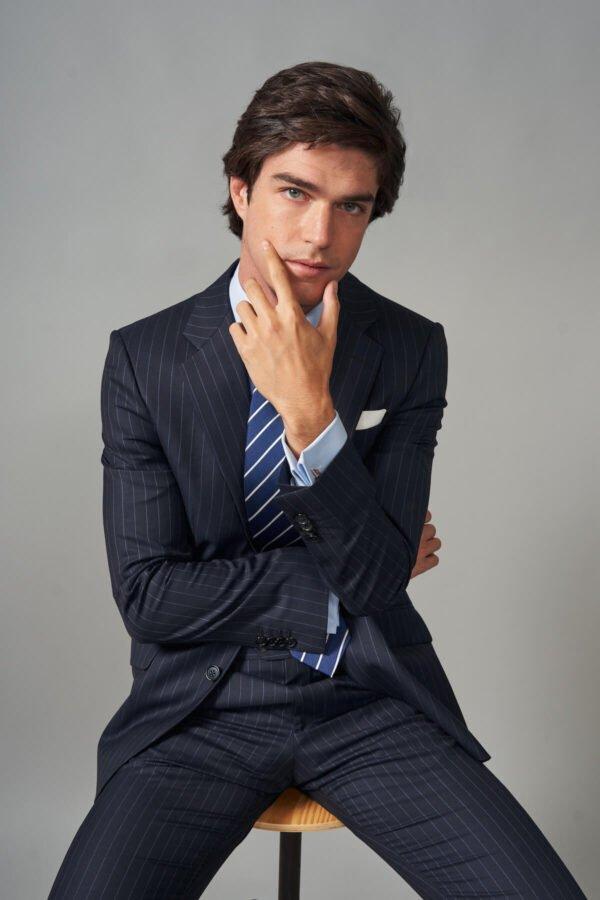 traje basic raya diplomatica azul jajoan2222 Traje Raya Diplomática Azul